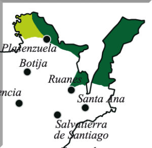 Detalle del mapa general