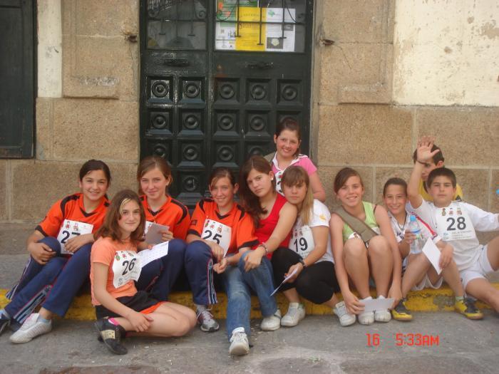 Participantes antes de la salida