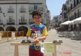 Un joven corredor
