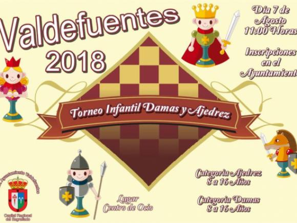 Cartel Torneo de Damas y Ajedrez 07.08.18.jpg