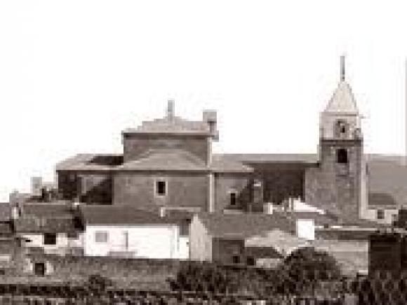 vista de la Iglesia de la Asunción, de Torremocha