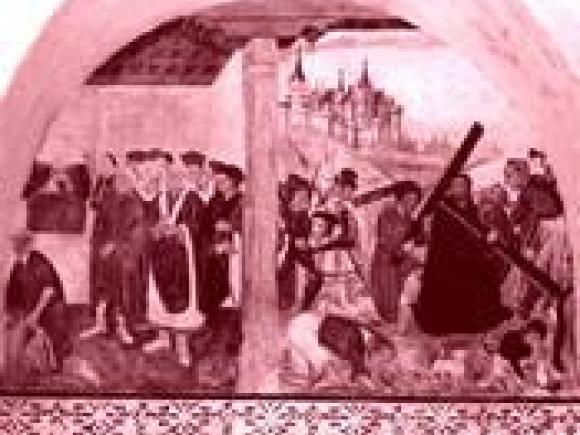 Pinturas de la ermita del Salor