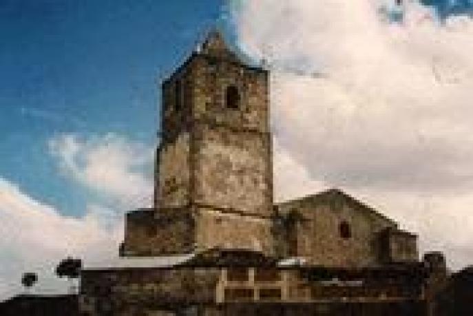 Iglesia de Santiago, en Salvatierra